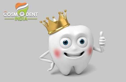 corona dental para niños