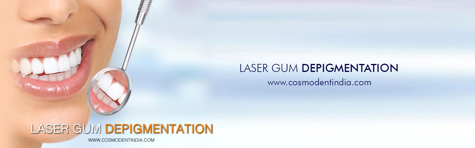 depigmentacion de goma-laser